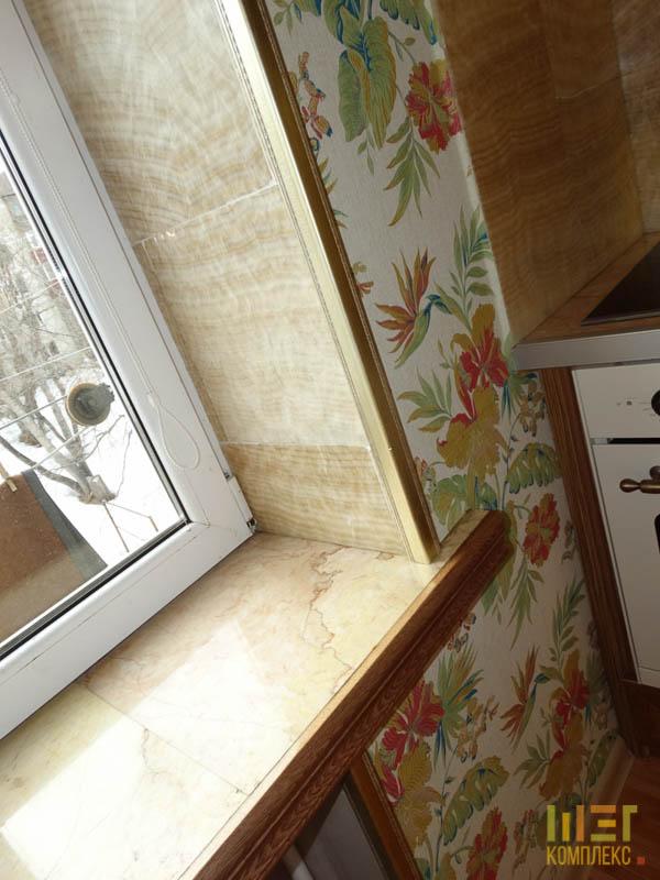 подоконник на кухне