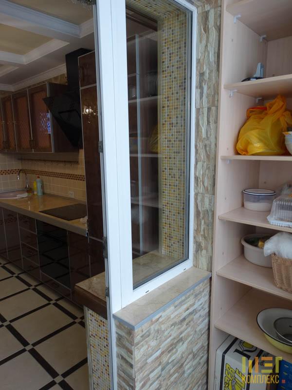 балкон - продолжение кухни