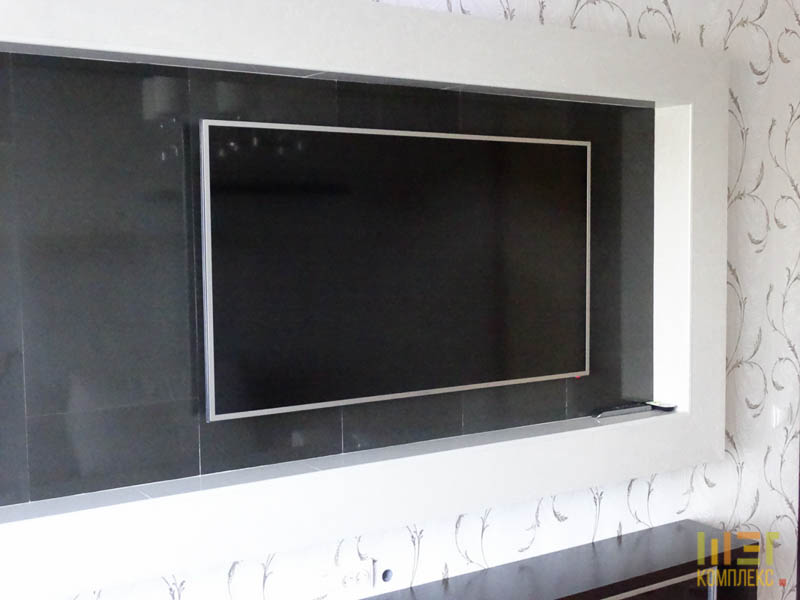 декоративная ниша для телевизора