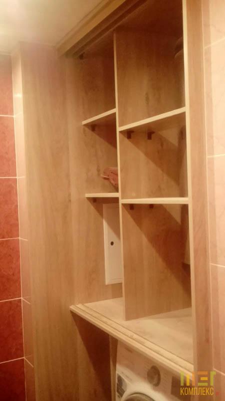 угловая полочка в ванной